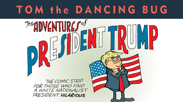 Trump sent back to where he's originally from!