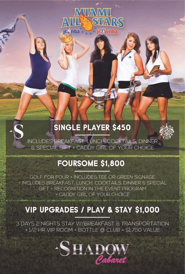 Trump Doral resort to host golf tourney run by strip club