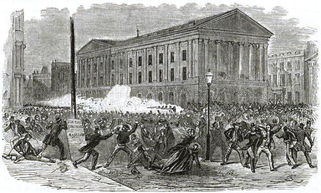 An 1849 dispute between two actors led to one of the bloodiest riots in New York history