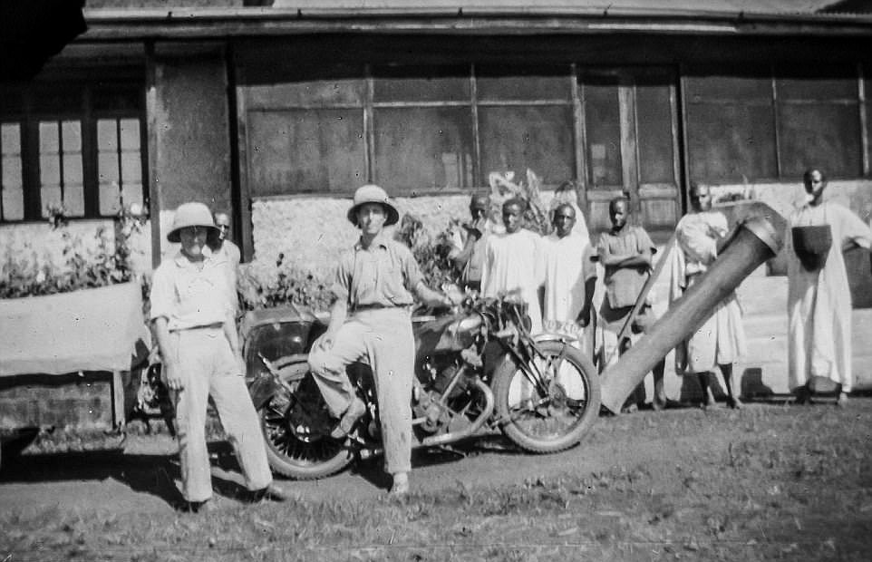 In 1934, two women set out to travel the length of Africa by motorcycle