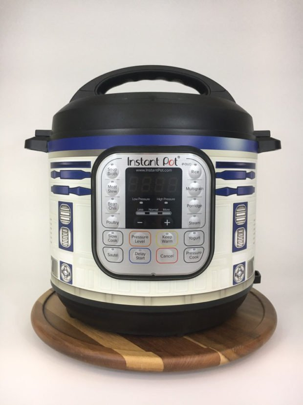Wrap makes your Instant Pot look like R2-D2