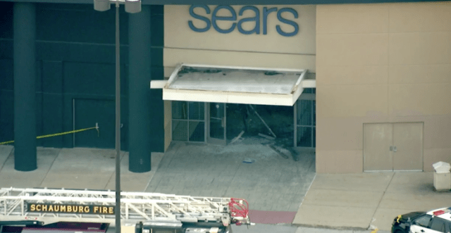 Chicago driver goes full Blues Brothers, plows through suburban mall
