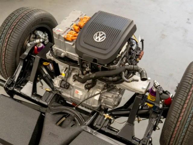 Volkswagen is electrifying classic VW Beetles