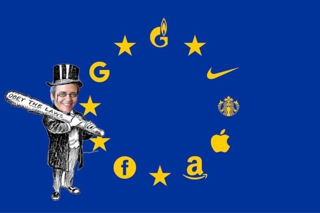 The EU's top trustbuster gets a surprise re-appointment