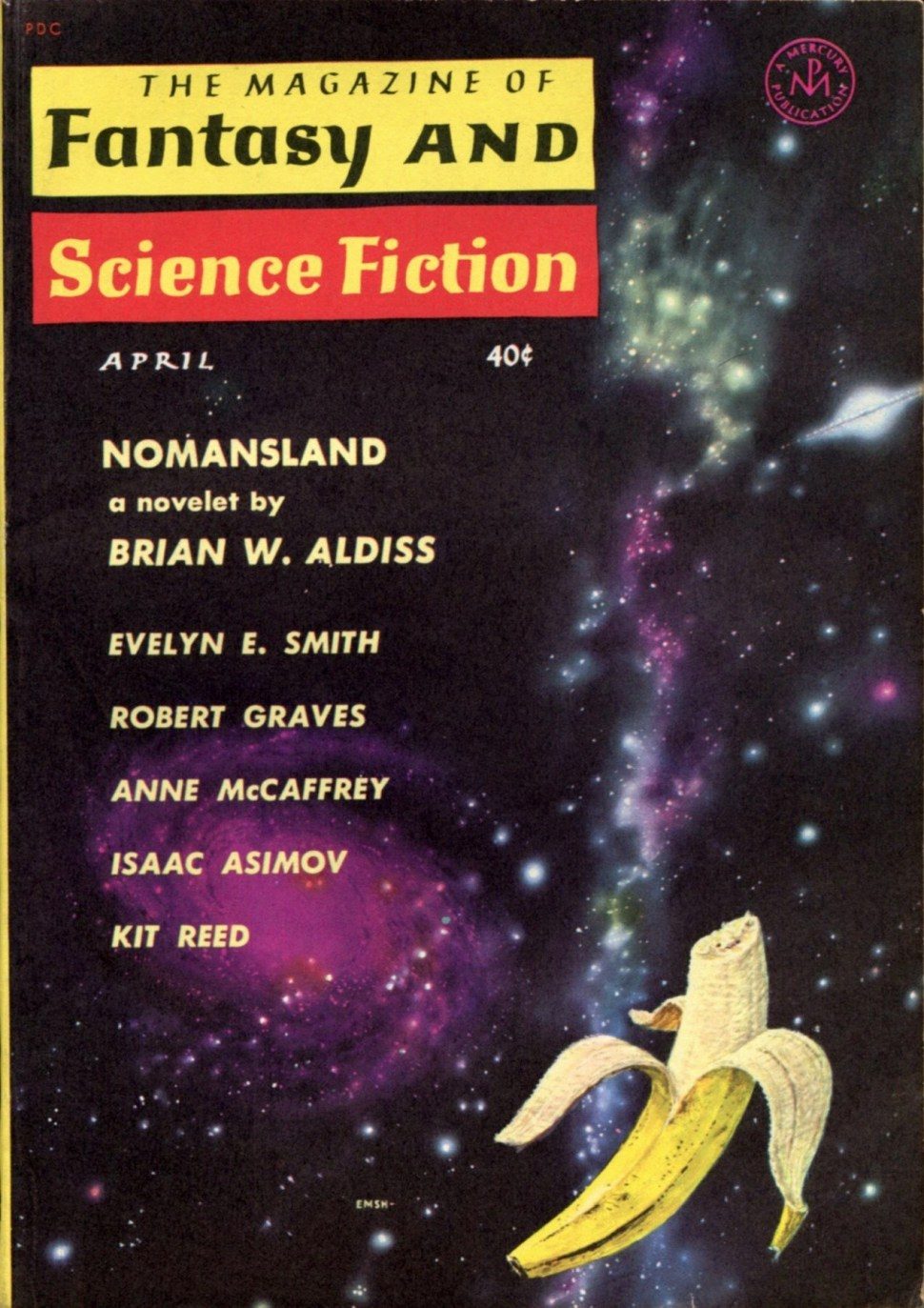 Just look at this Emshwiller galactic 1961 F&SF banana