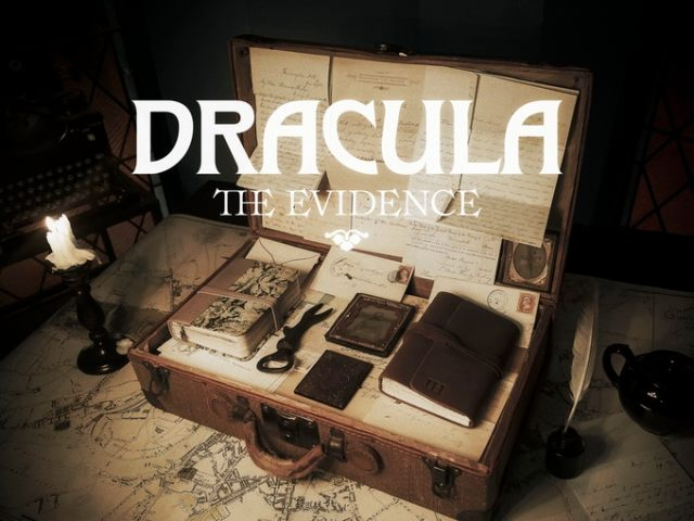 """Kickstarting a deluxe """"Dracula"""" edition in a suitcase full of """"primary source materials"""" from the novel"""