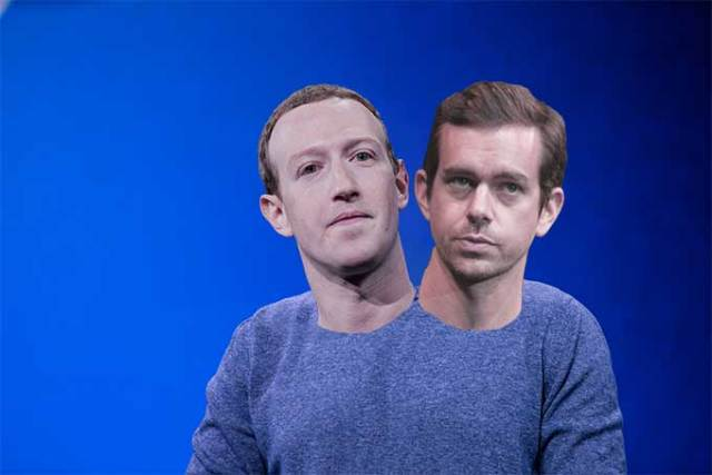 Facebook and Twitter say they will allow candidates to pay them to be able to lie about opponents