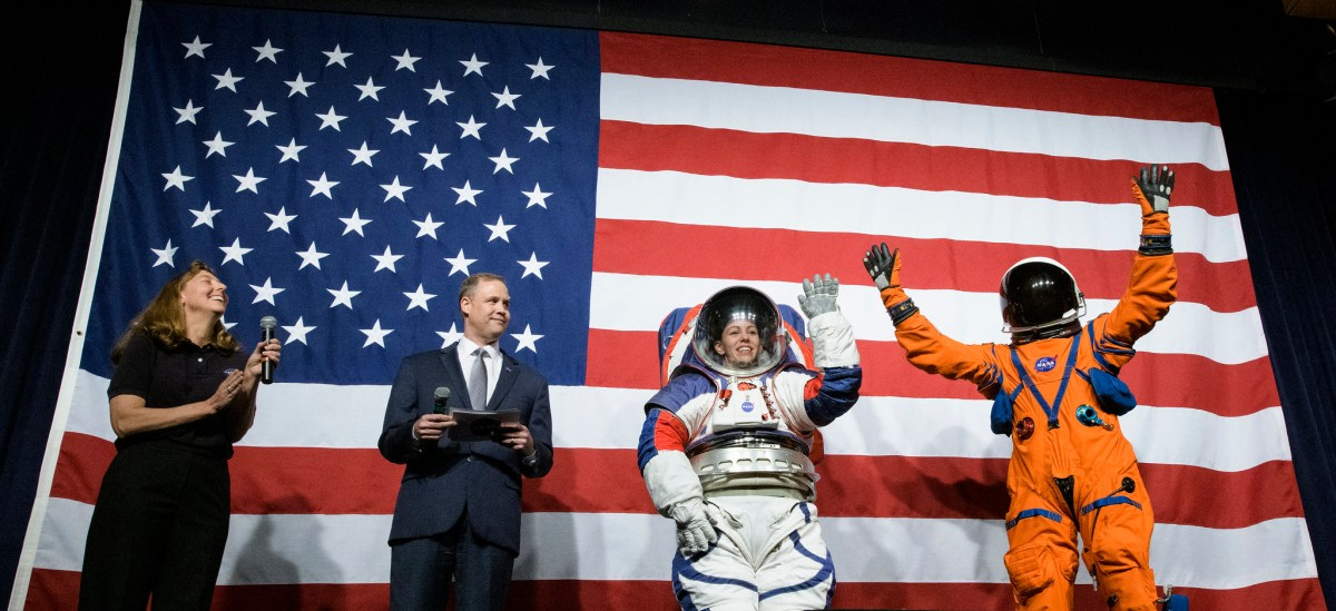 NASA unveiled a new spacesuit that's flexible enough for dancing