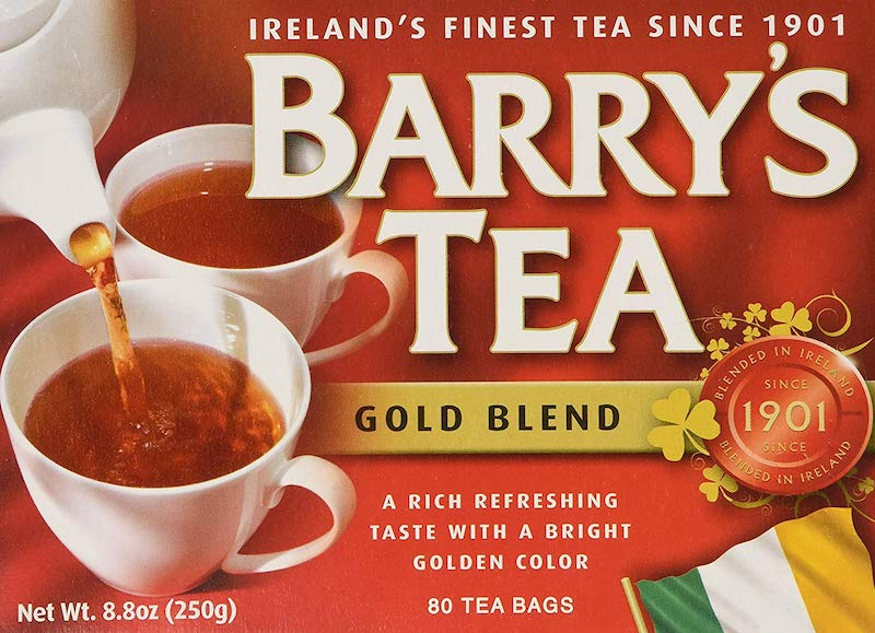 How much more black can Barry's Gold Blend be?