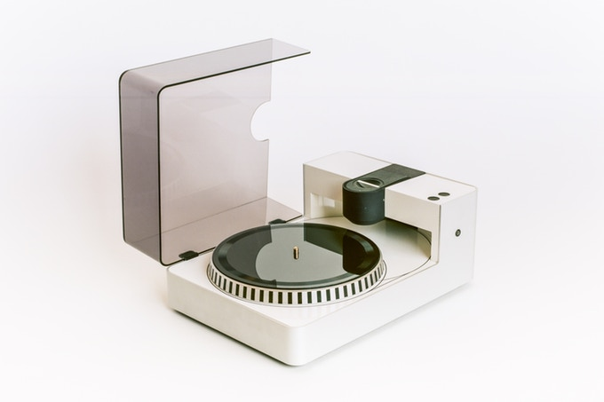 Cut your own vinyl records at home with this machine