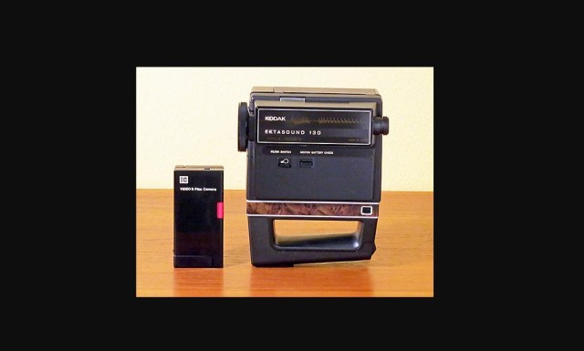 """Look at this amazing """"shirt-pocket"""" sound movie camera from 1976"""