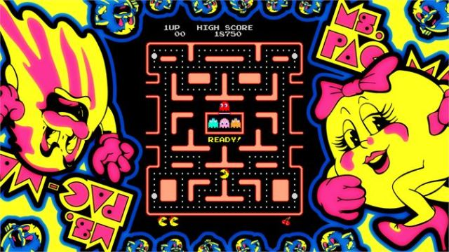 Who can sell Ms. Pac Man?