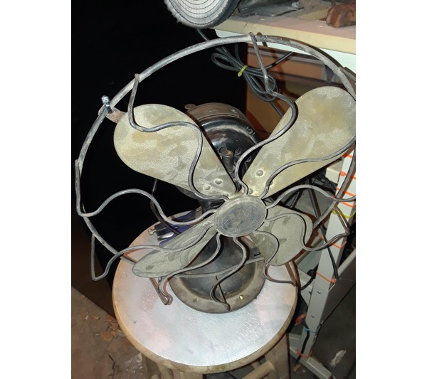Restoration project: 1919 mechanical fan returned to full glory