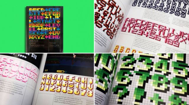 Arcade Game Typography: beautiful book of pixel fonts