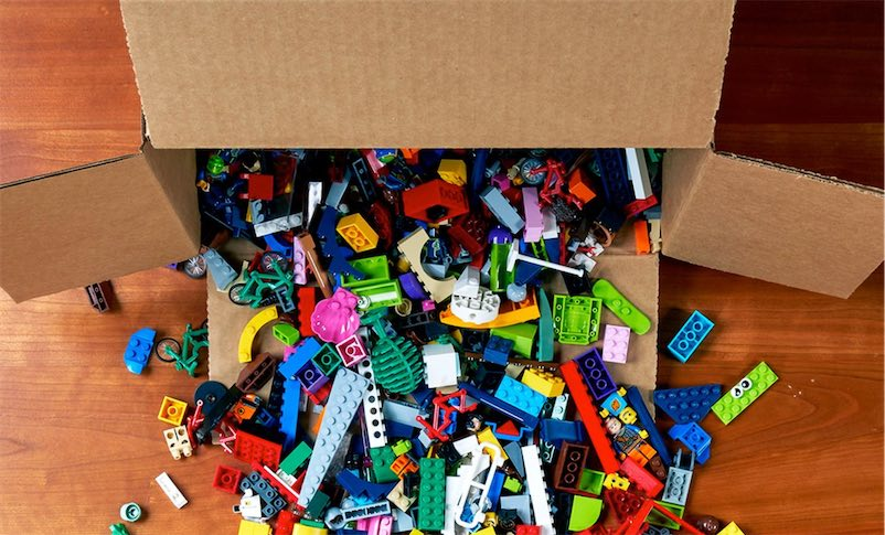 Lego's new green-minded effort to collect and redistribute old bricks