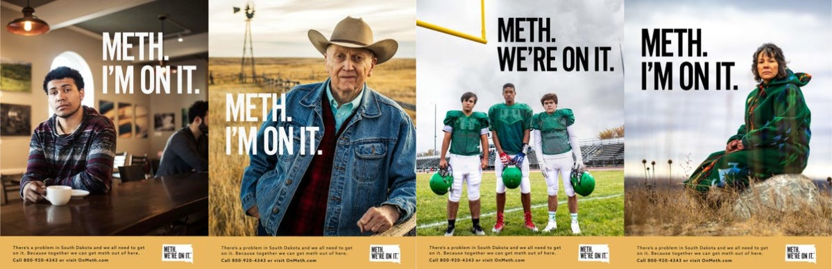 The State of South Dakota wants you to know that it's on meth