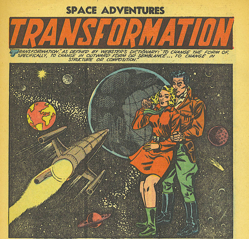 That time Charlton Comics published a trans sci-fi story in 1953