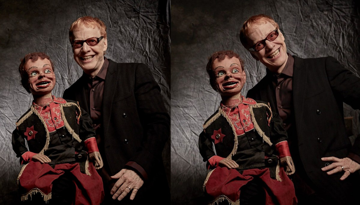 "I chatted with Danny Elfman about his new MasterClass, and his ventriloquist dummy ""Buddy"""
