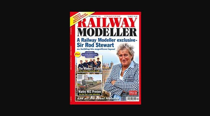 Rocker Rod Stewart built an epic model railway in his house