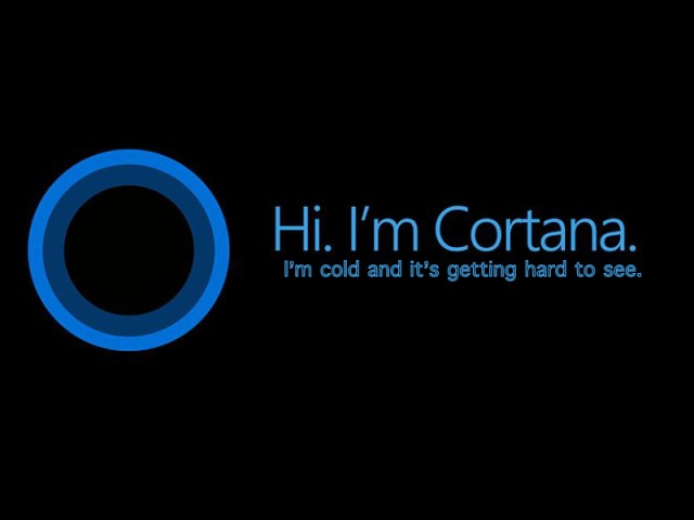 Microsoft's Cortana is sleeping with the fishes