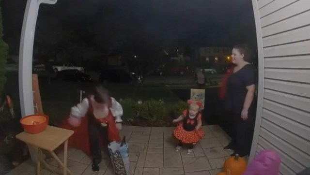Watch this kid do a good thing with his candy