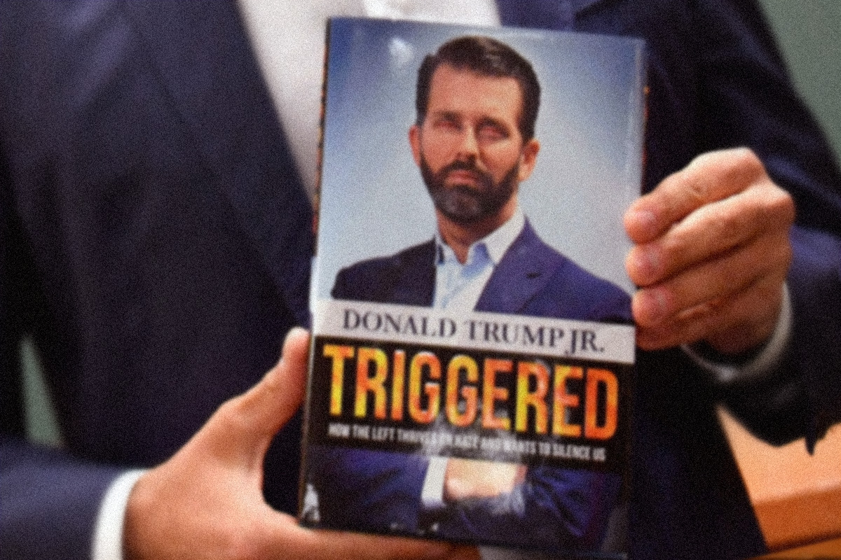 Donald Trump Jr. book sales reportedly goosed by bulk purchases