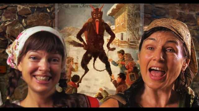 A happy sing-along song about Krampus