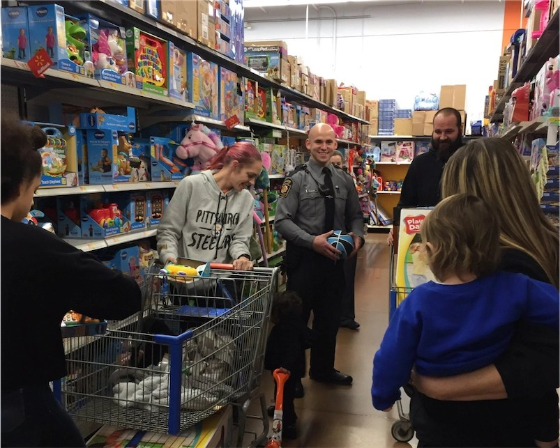 Tip: Don't shoplift when store is holding 'Shop With A Cop' event