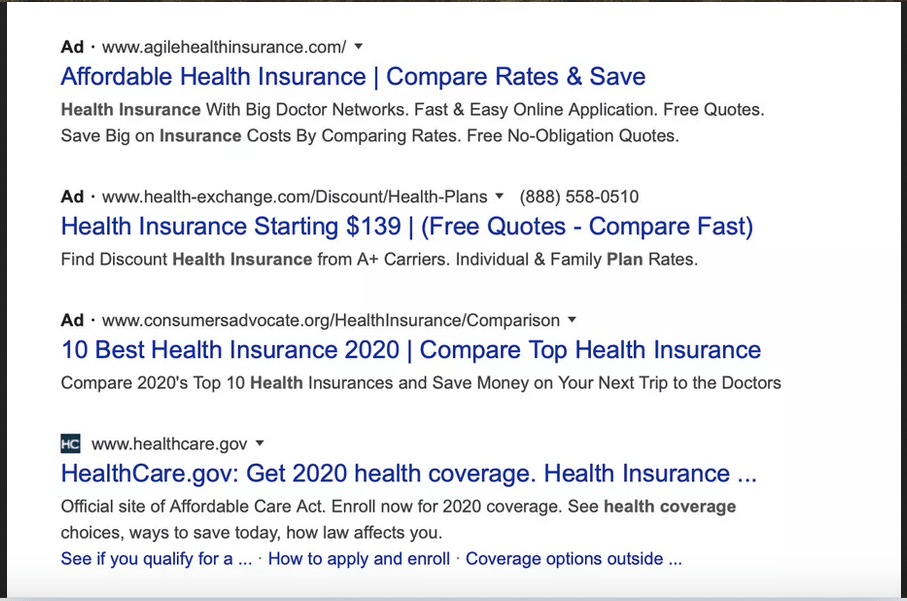 google ads look like search results now hard to tell difference