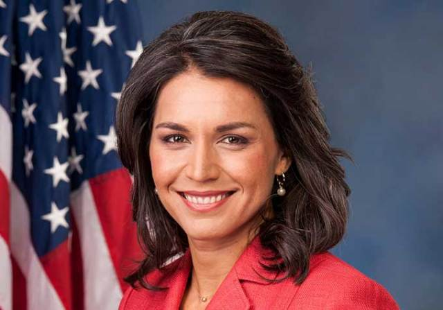 """Presidential candidate Tulsi Gabbard is suing Hillary Clinton for calling her a """"Russian asset"""""""