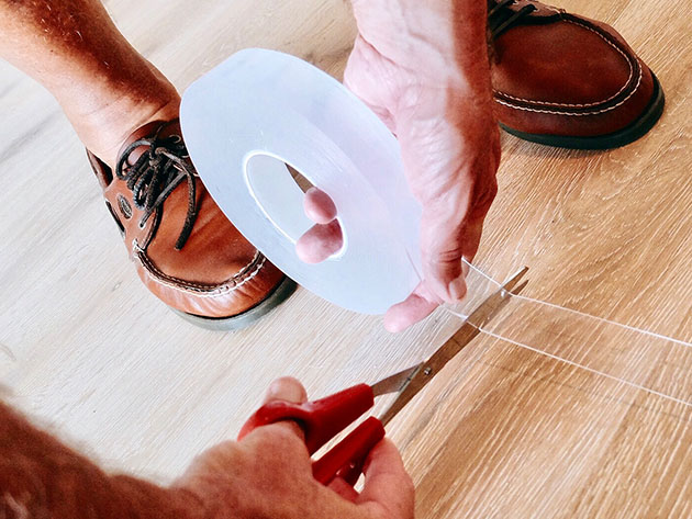This tape is perfect for any job that requires a non-slip or sticky surface in the home