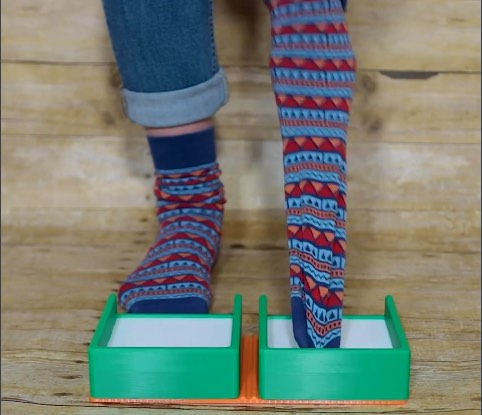 Clever inventor designs sock removal device
