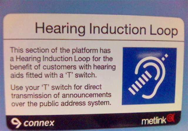 DIY method for transmitting audio in large spaces directly to people's hearing aids