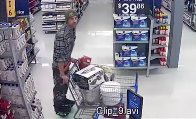 """Florida man wearing """"hover shoes"""" brazenly rolls out of Walmart with cart of stolen goods"""