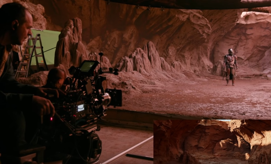 How The Mandalorian was shot on a virtual stage using the Unreal Engine
