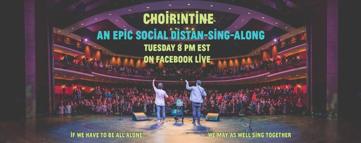 Choir! Choir! Choir! to host online