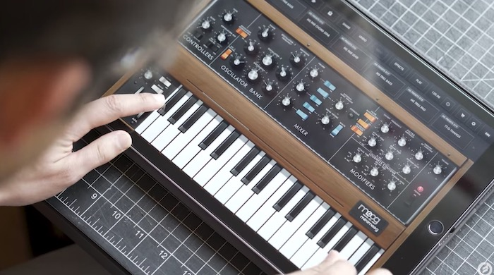 Korg and Moog have made their software synth apps free