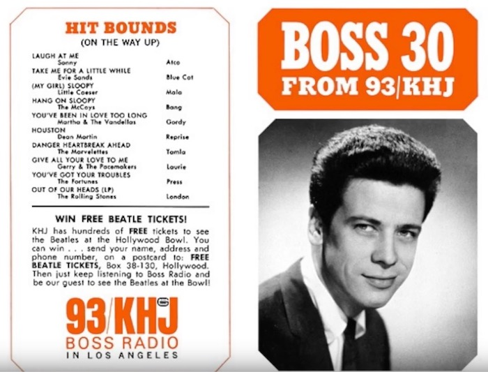 If you enjoyed the radio shows on Once Upon a Time in Hollywood, here's two hours of Boss Radio from 1968