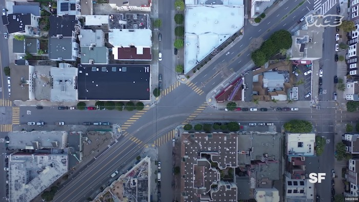 Drone flyovers of New York, Los Angeles, San Francisco and Seattle