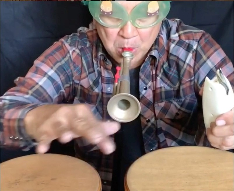 Check out Money Mark's fantastic daily musical experiments!