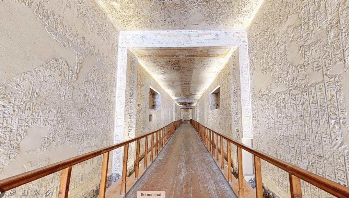 Take a virtual tour of Ramesses VI tomb