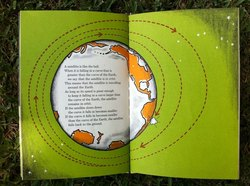 Why Satellites Stay in Orbit: Cool 1964 kids  science book