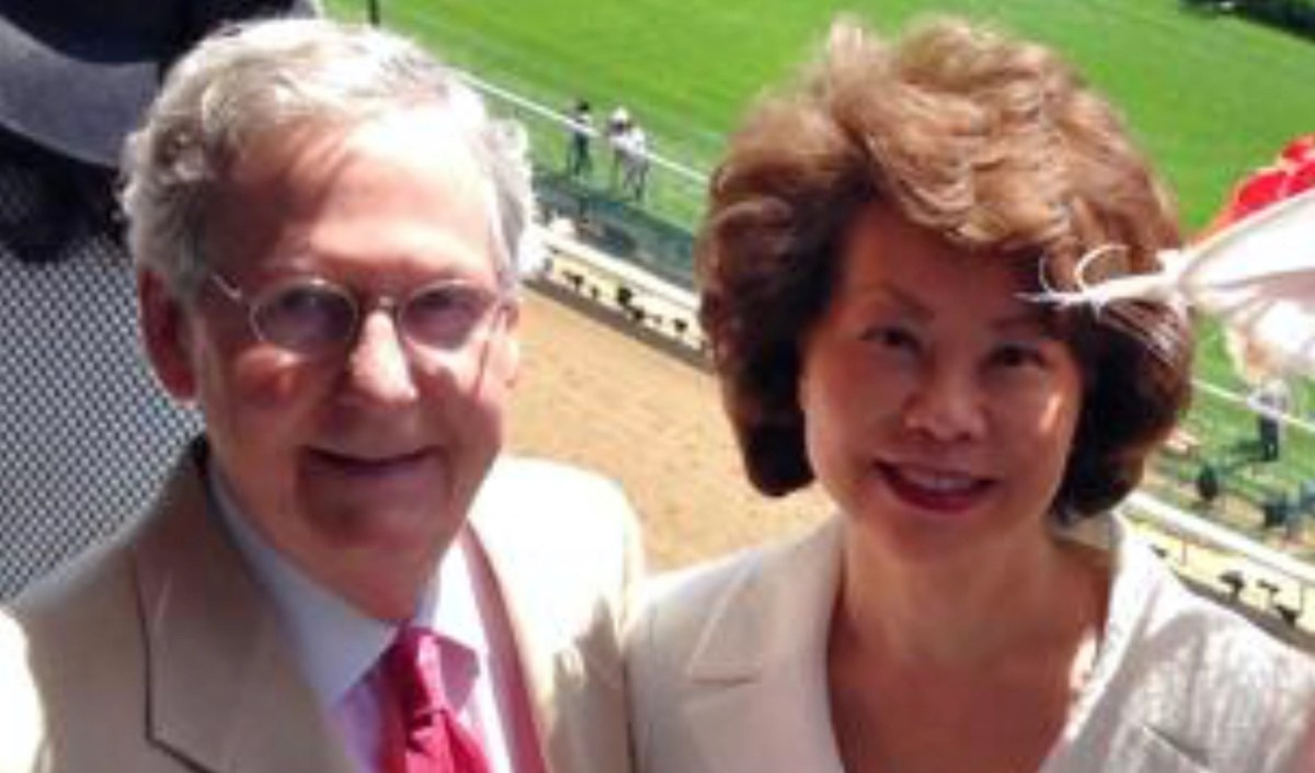 Trump also fired another watchdog investigating Elaine Chao, wife of Mitch McConnell