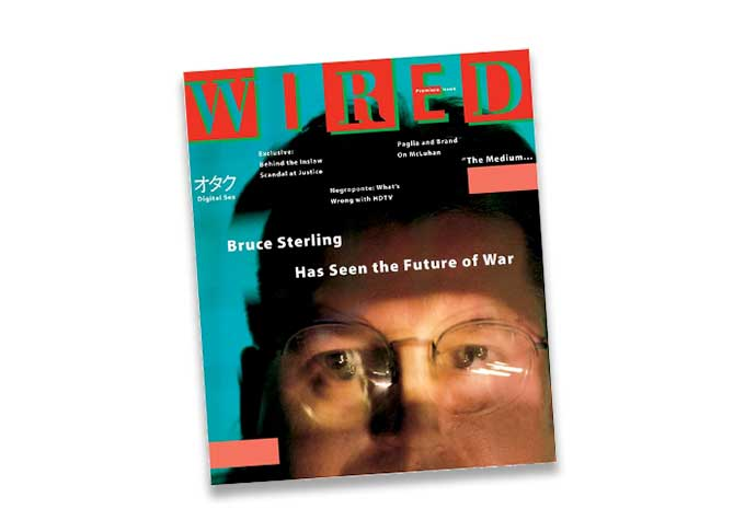 Wired just canceled Bruce Sterling's long-running blog