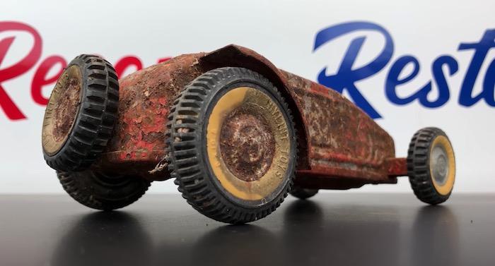 Toy hot rod car restoration thumbnail