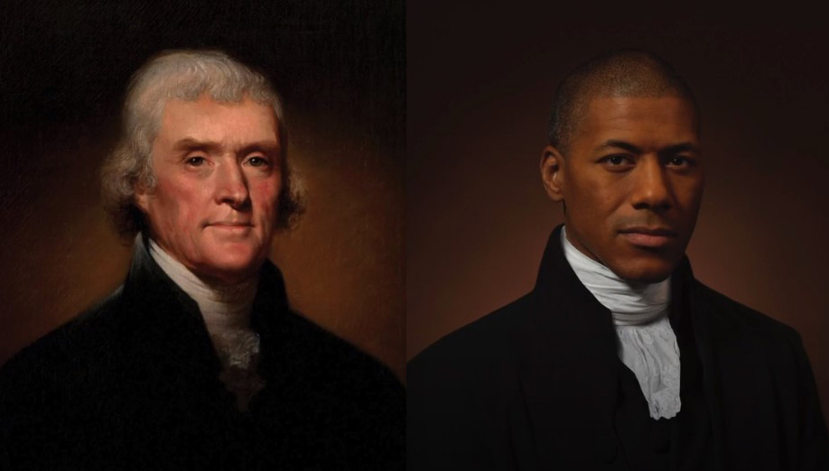 Sixth great-grandson of Thomas Jefferson re-creates his presidential portrait