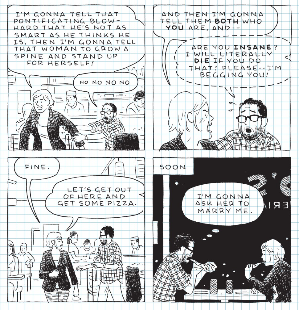 Excerpt from The Loneliness of the Long Distance Cartoonist, Adrian Tomine