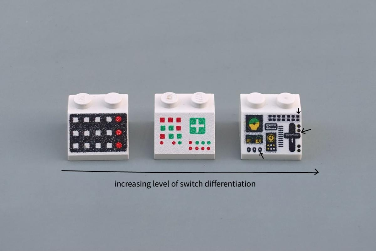 These Lego control panels will teach you all about physical interface design