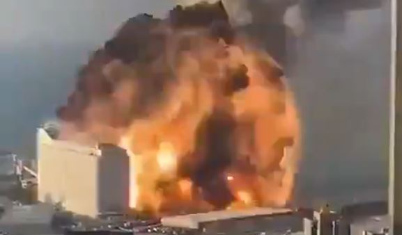 Massive explosion rocks Beirut, obliterating hotel