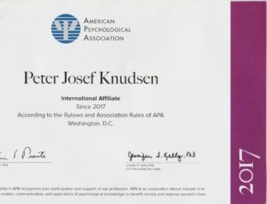 Peter Josef Knudsen,APA,Denmark